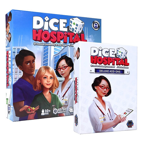 Dice Hospital Deluxe edition (US purchases only)
