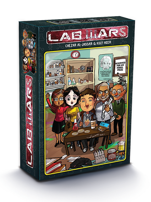 Lab Wars: Base game&Legends of Science expansion!