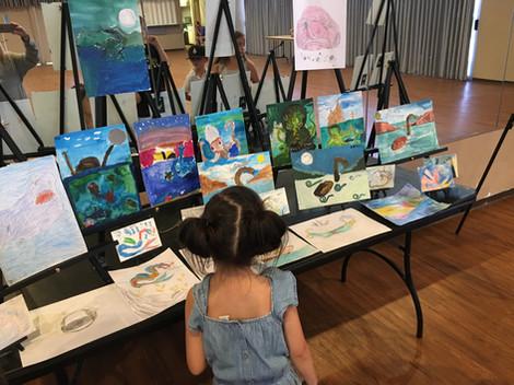 SEA MONSTERS ART