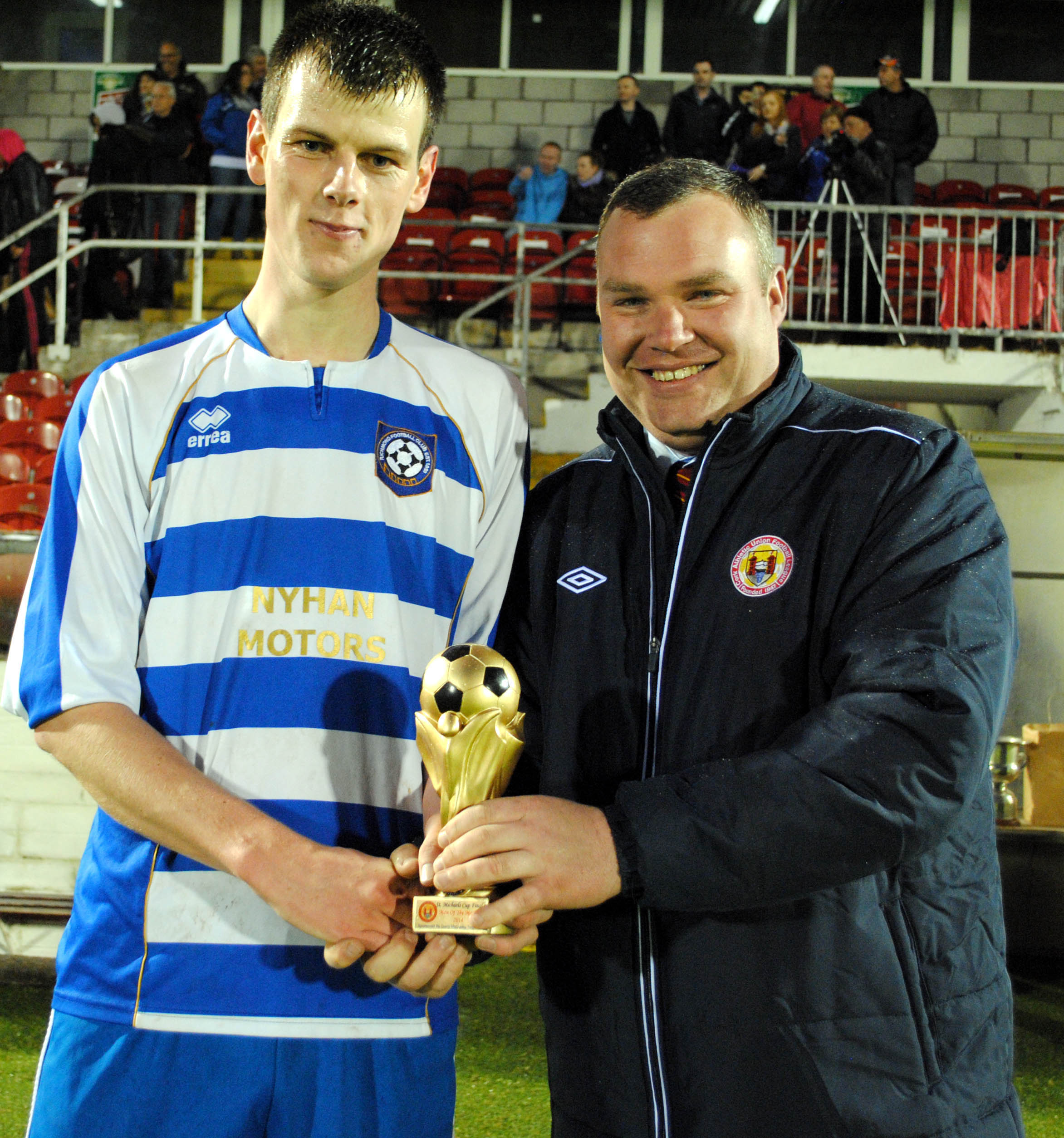 Man of the match - Sean Creedon