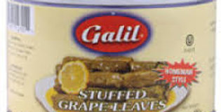 Galil Stuffed Grape Leaves