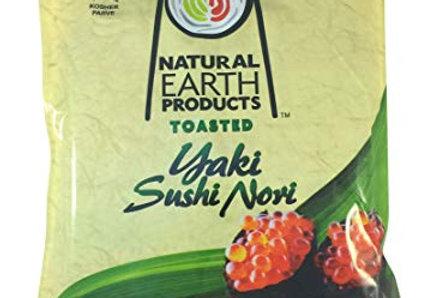Natural Earth Sushi Nori-50 Sheetss