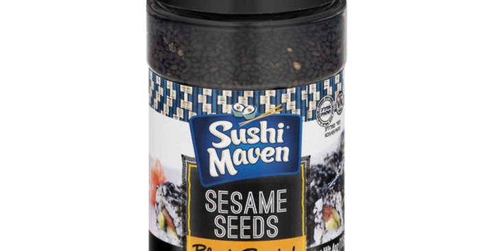 Sushi Maven Black Roasted Sesame Seeds