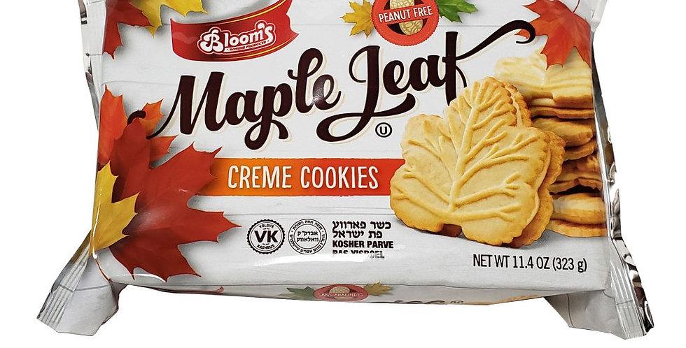 Bloom's Maple Leaf Cookies