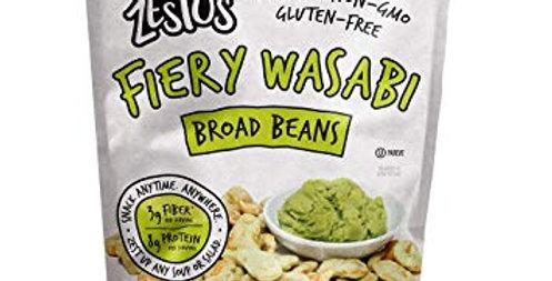 Zestos Firey Wasabi Flavored Broad Beans