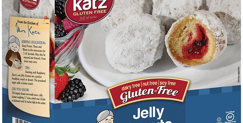 Katz GF Jelly Donuts