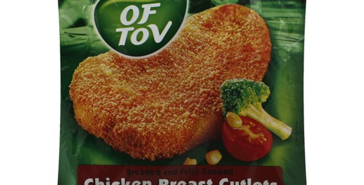 Of Tov Chicken Breast Cutlets