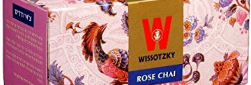 Wissotzky Rose Chai Tea