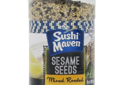 Sushi Maven Mixed Roasted Sesame Seeds