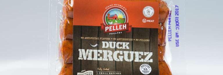 Pelleh Duck Merguez