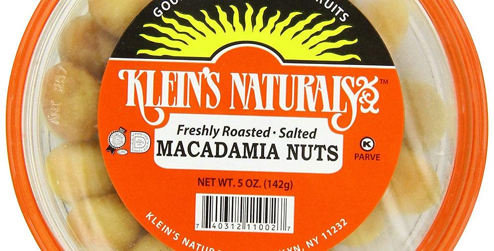 Klein's Naturals Macadamia Nuts