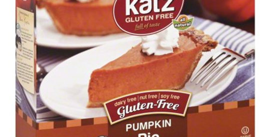 Katz GF Pumpkin Pie