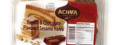 Achva Chocolate & Vanilla Halva