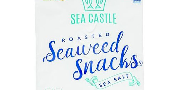 Sea Castle Seaweed Snacks-Sea Salt
