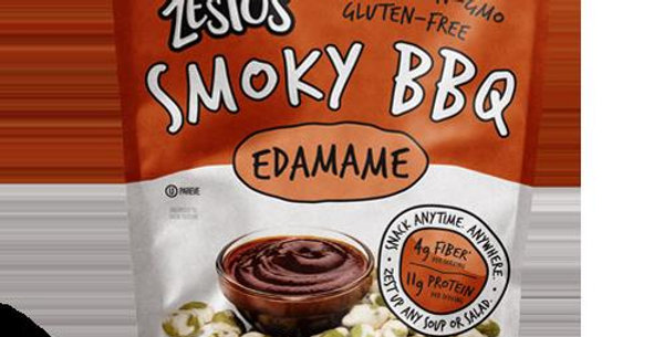 Zestos Smokey BBQ Edamame