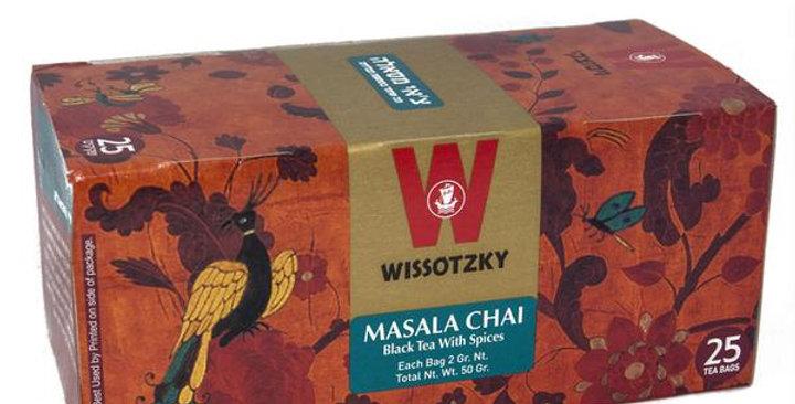 Wissotzky Masala Chai Tea