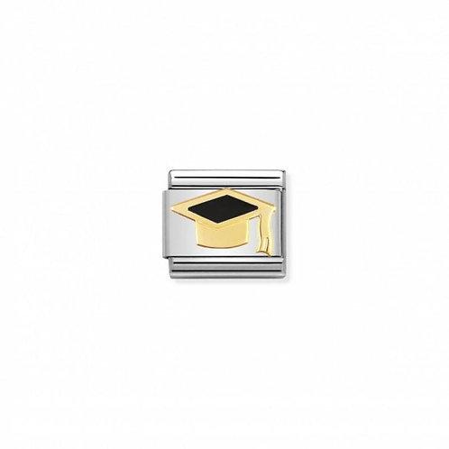Nomination Classic Black Graduation Hat Link