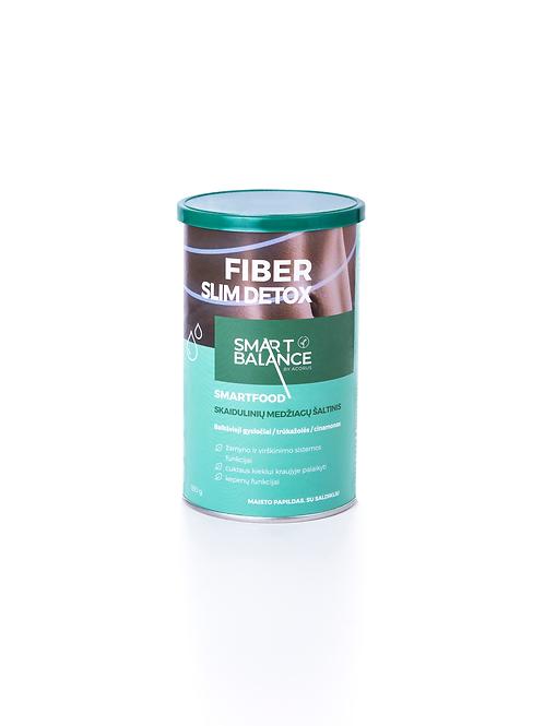 FIBER SLIM DETOX, skaidulos, 180 g.