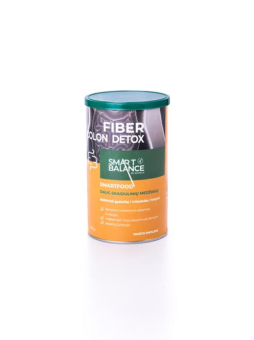 FIBER COLON DETOX, skaidulos, 180 g.