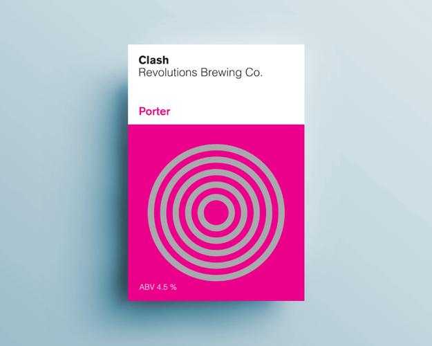 Clash / Porter / ABV 4.5%