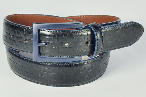 Benchcraft Lattice Braid Leather Belt