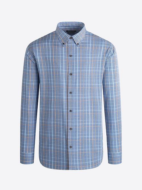 Bugatchi Classic Blue Check Shirt