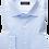 Thumbnail: Eterna Blue Twill Dress Shirt