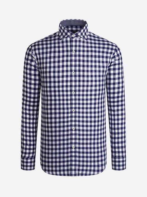 Bugatchi Gingham Check Shirt