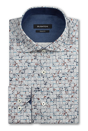 Bugatchi Woven Check Shirt