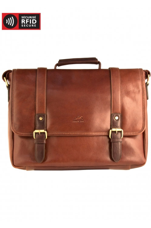 Mancini Messenger Bag for Laptop