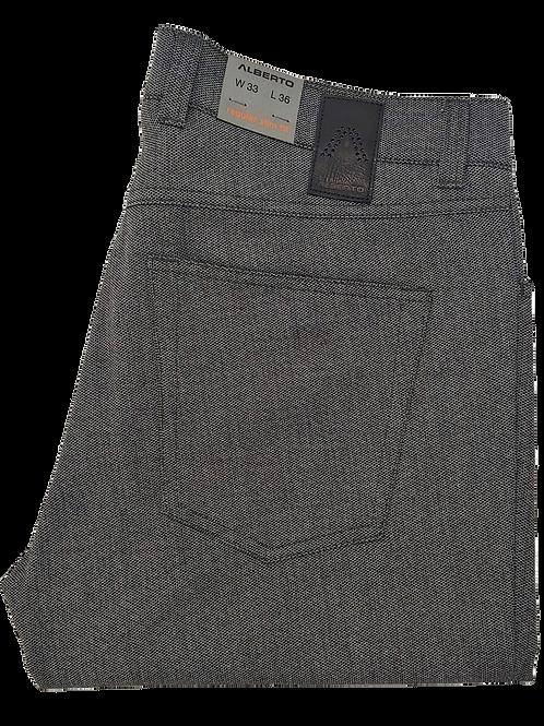 Alberto Stone Pant Grey
