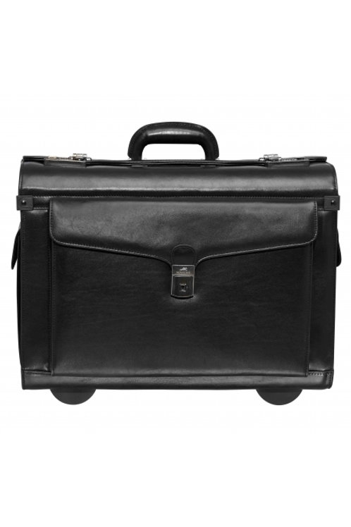 Mancini Deluxe Wheeled Catalog Case
