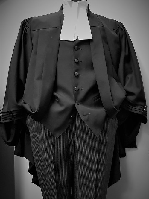 Barristers Silver Robe Package | Men's