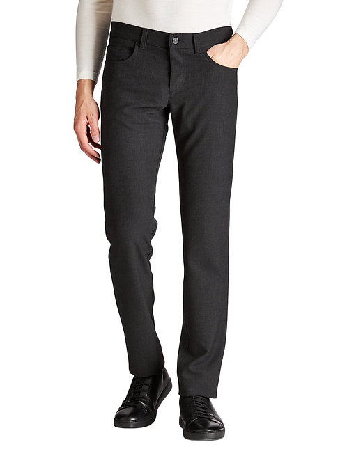 Alberto Ceramica Pipe Slim Fit Pants Charcoal