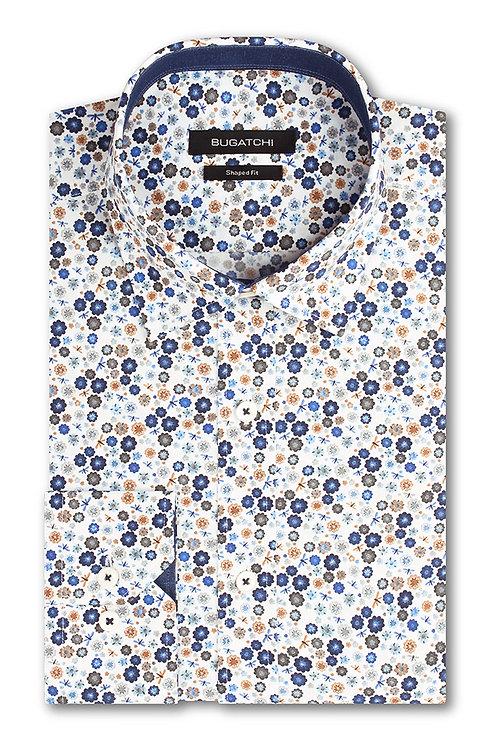 Bugatchi Cotton Printed Floral Shirt