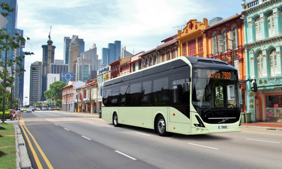 Singapore to see Volvo and NTU trial autonomous electric buses