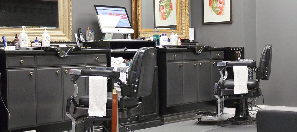 david e white barbershop