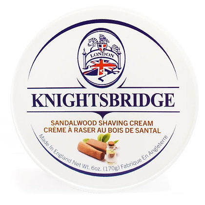 Knightsbridge Sandalwood Shave Cream