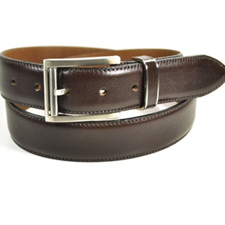 Benchcraft Leather Belt Brown