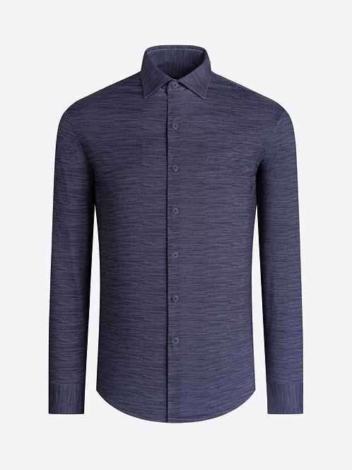 Bugatchi OoohCotton Charcoal Shirt