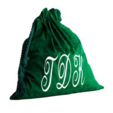 Judges Robe Bag | Green Velour