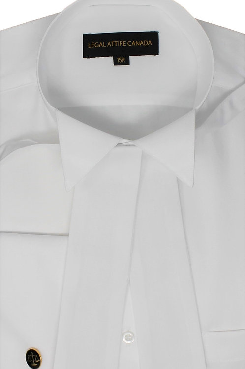 Men's Court Shirt French Cuff with Tabs