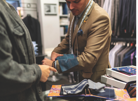 Welcome Back - Custom Suit Appointments Now Available