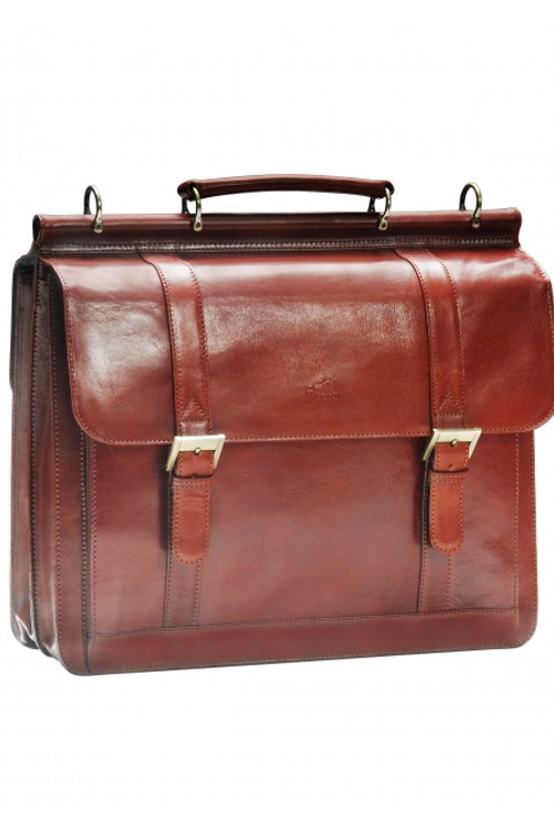 Mancini (Flap) Briefcase for Laptop and Tablet