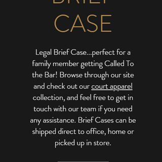 Leather Legal Brief Cases
