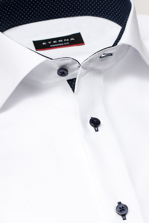 Men's Dress Shirt | White - Blue - Lilac