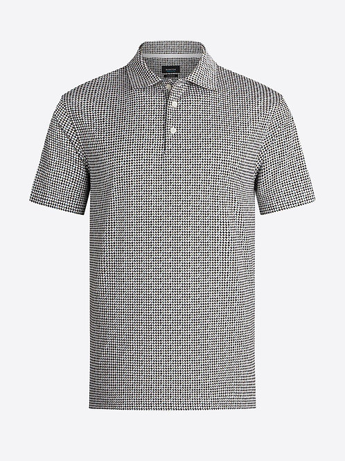 Bugatchi OoohCotton Abstract Printed Polo