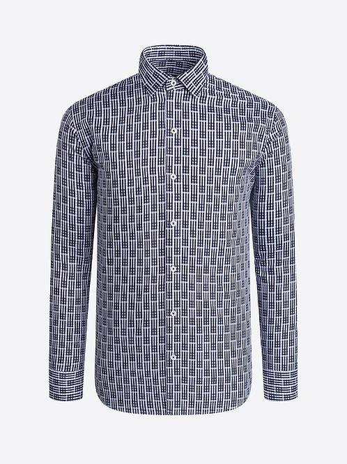 Bugatchi Optical Check Shirt