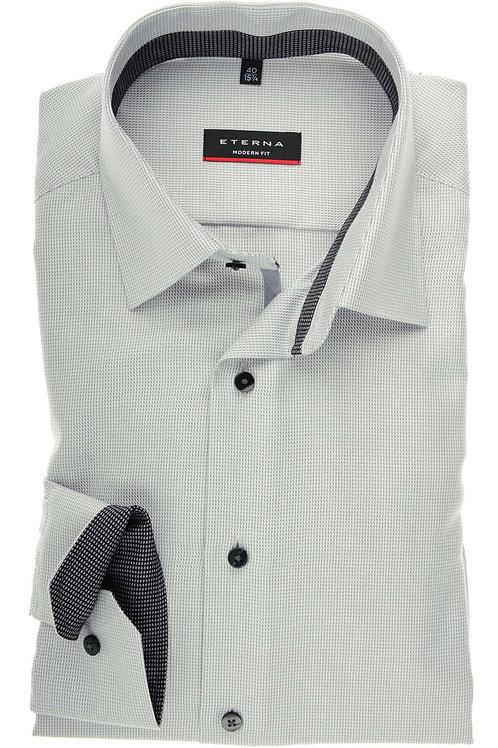 Eterna Grey Dress Shirt