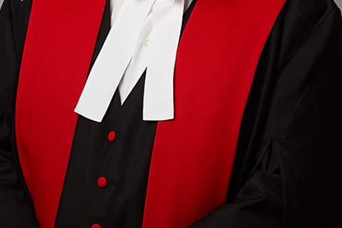 BC Provincial Court Judge | Silk Gown